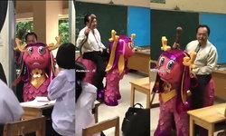 ครูสุดเจ๋ง ขี่ม้านิลมังกรมาสอนวิชาวรรณคดีไทย สอนแบบนี้ไงนักเรียนถึงตั้งใจเรียน