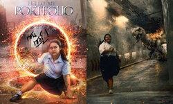 เด็กไทย โฟโต้ชอปเทพ งานละเอียด เปลี่ยนภาพธรรมดาเป็นฮา 10 กะโหลก