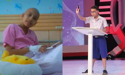 """""""น้องสเตฟาน"""" อัจฉริยะคณิตฯ แชมป์โอลิมปิก ผู้สู้เพื่อผู้ป่วยมะเร็ง ล้มป่วยเพราะมะเร็ง"""