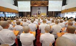 ม.หอการค้าไทยจัดโครงการบรรพชาอุปสมบทหมู่ 110 รูป เฉลิมพระเกียรติในหลวงรัชกาลที่10