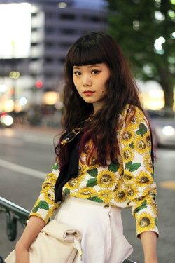 แฟชั่นวัยรุ่นญี่ปุ่น เสื้อผ้าลายดอก