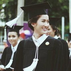 อาย กมลเนตร คว้าเกียรตินิยมอันดับ1 มหาวิทยาลัยเกษตรศาสตร์