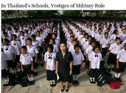 """เมื่อสื่อตะวันตกมอง""""การศึกษาไทย""""ฝังราก""""ระบบทหารกับเด็ก""""-""""นักเรียน""""เริ่มท้าทาย-รบ.ล้างระบบ"""""""