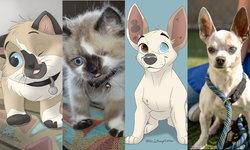 ศิลปินวาดรูปสัตว์ในแนวการ์ตูนดิสนีย์ ช่วยเหลือให้เหล่าสัตว์ถูกรับไปเลี้ยง