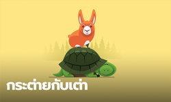 นิทานอีสป : นิทานเรื่อง กระต่ายกับเต่า