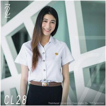 CL28 ฟร้อง ชวิศา เกียรติเชิดแสงสุข คณะ วารสารศาสตร์ ชั้นปีที่ 2