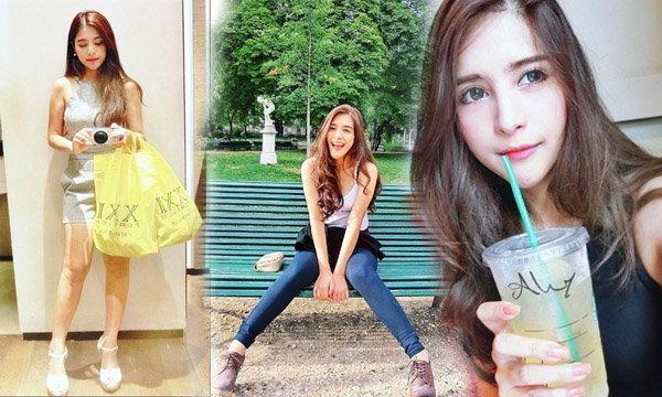 """สวยเป๊ะปังแฟชั่นแซ่บๆ """"น้องกิ่ง"""" สาวไทยดังไกลถึงเว็บจีน"""