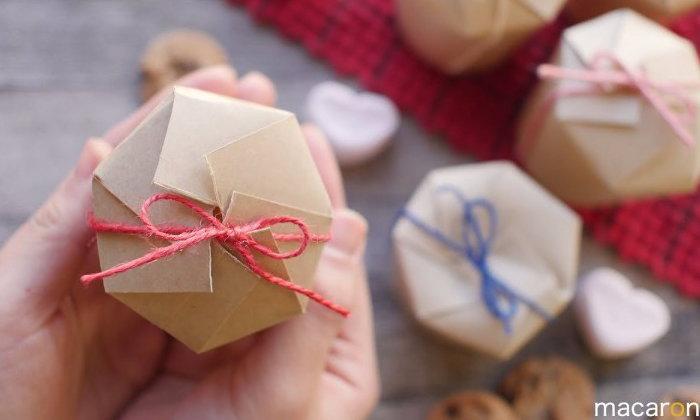 DIY กล่องของขวัญแทนใจด้วยแก้วกระดาษสไตล์ญี่ปุ่น