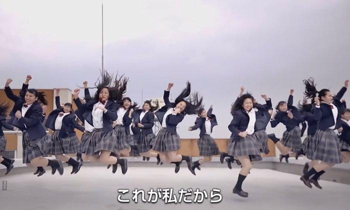 """ชมรมเต้นญี่ปุ่น ม.ปลาย """"Tomioka High Dance Club"""" ออกสเต็ปเท้าไฟ """"This is me"""" ปังมาก"""