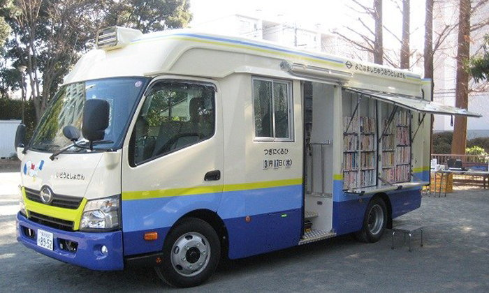 ห้องสมุดเคลื่อนที่…สิ่งที่ญี่ปุ่นทำเพื่อเด็กๆของพวกเขา