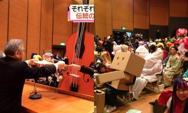 """เปิดบรรยากาศรับปริญญาของ นศ. ญี่ปุ่น ที่แต่ง """"คอสเพลย์"""" แทนชุดครุย"""