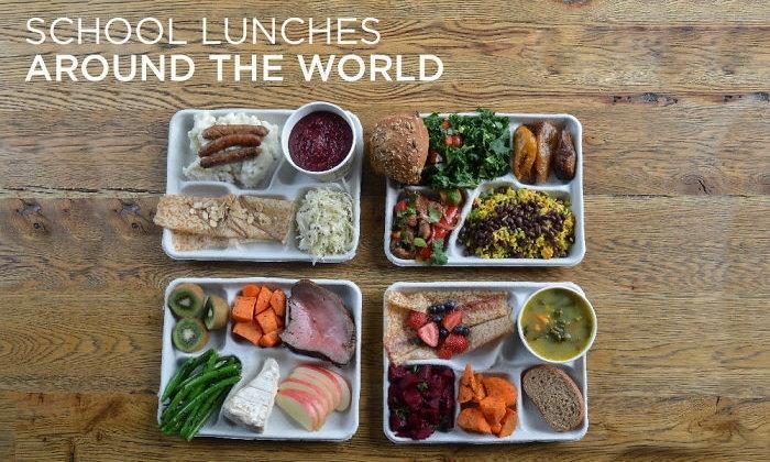 พาส่อง 9 อาหารกลางวัน ของนักเรียน 9 ประเทศ เด็กแต่ละที่เขากินอะไรกัน