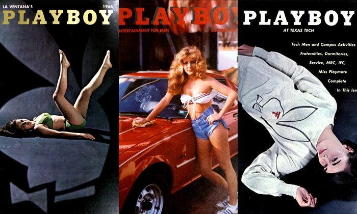 """""""หนังสือรุ่นธีม Playboy"""" ของเด็กมหาวิทยาลัยยุค 60 งานครีเอท อย่างกับนิตยสารของจริงเลย"""
