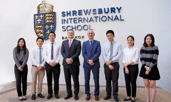 """6 นักเรียนไทย """"โรงเรียนนานาชาติโชรส์เบอรี กรุงเทพ"""" ผ่านการคัดเลือกเข้า """"เคมบริดจ์"""""""