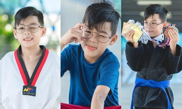 """""""น้องเก้า ธีรัช"""" หนุ่มน้อยนักกีฬายูยิตซูวัย 8 ปี จากเด็กไม่มีวินัยตั้งเป้าจะเป็นทีมชาติ"""