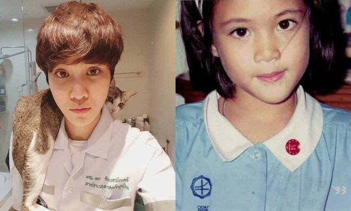 """ย้อนวัยเด็ก """"หมอเจี๊ยบ"""" ผู้เป็นทั้ง แพทย์ นักแสดง นางสาวไทย และนักกีฬา"""