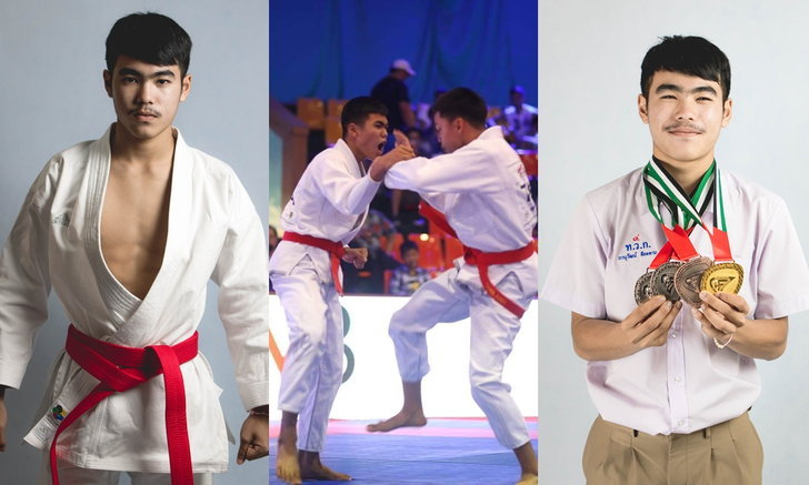 """""""ซันเดย์ ภานุวัฒน์"""" หนุ่มน้อยยูยิตสูแชมป์โลกทีมชาติไทย ที่ปลดหนี้ให้ครอบครัวด้วยฝีมือตัวเอง"""