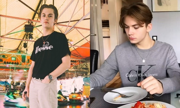"""""""น้องนิค"""" หนุ่มหล่อเยอรมันหัวใจไทย สไตล์ยูทูเบอร์ทำอาหารกับคุณแม่"""