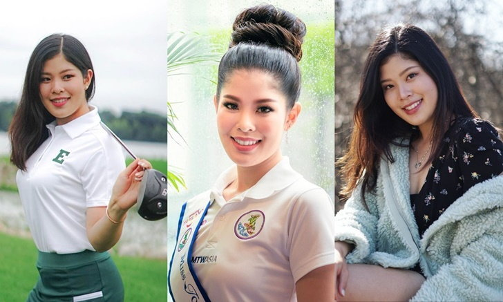 """""""แพรว ภัทราพร"""" นักกอล์ฟสาวนักเรียนนอก ดีกรี Miss Tourism World Thailand 2020"""