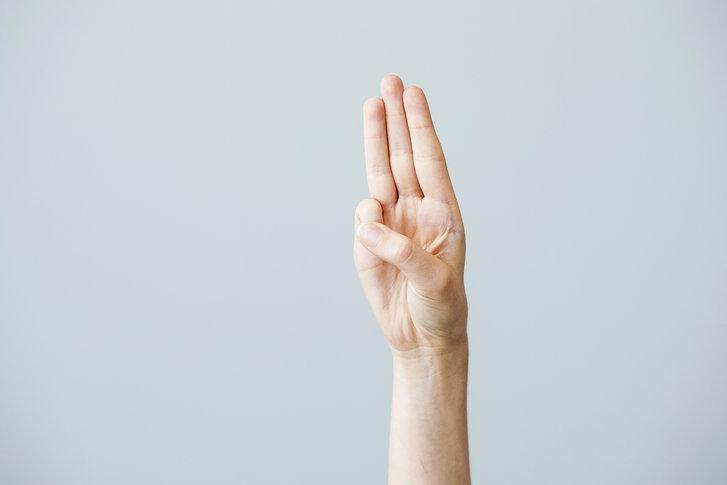 สัญลักษณ์ 3 นิ้ว