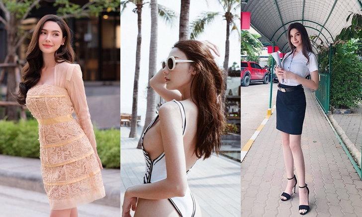 """ประวัติ  """"ซาร่า คาซิงกินี"""" ลูกครึ่งสาวไทย-อิตาลี จากรั้วมหาวิทยาลัยกรุงเทพ"""