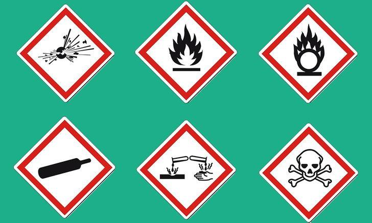 9 สัญลักษณ์แสดง อันตรายของสารเคมี ที่ประชาชนทั่วไปต้องรู้