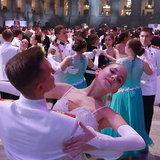 งานเต้นรำปิดการศึกษานักเรียนเตรียมทหารรัสเซีย