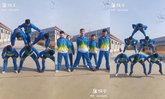 """นักเรียนจีน """"ต่อพีระมิดกระโดดเชือก"""" เจ๋งกว่านี้มีอีกไหม?"""