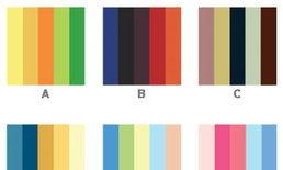 แบบทดสอบบุคลิกภาพ : สีสันของคุณในสังคม