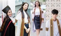 """""""ดาราในชุดครุย 2018"""" รวม 5 ดาราบัณฑิต ที่เก่งฉลาดเป็นตัวอย่างด้านการศึกษา"""