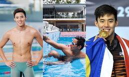 """ประวัติ """"Welson Sim"""" ส่องความหล่อ นักกีฬาว่ายน้ำทีมชาติมาเลเซียในโอลิมปิก"""