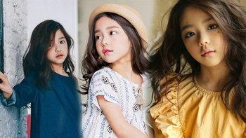 ฉายแววสวยแต่เด็ก น้องฮวัง ซีอึน นางแบบชาวเกาหลีอายุ 6 ขวบ