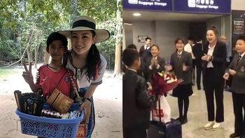 """เก่งมาก """"เด็กกัมพูชา พูดได้ 16 ภาษา"""" มีคนส่งเสียให้เรียนต่อที่ประเทศจีน"""