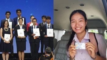 """ไม่ทำให้ผิดหวัง """"น้องน้ำผึ้ง"""" หลังได้สัญชาติไทย ก็สามารถคว้ารางวัลกลับประเทศไทยได้"""