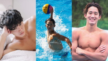 """เปิดวาร์ป """"อะสึชิ อาราอิ"""" นักกีฬาโปโลน้ำโอลิมปิก น่ารักลุคอบอุ่น ทีมชาติญี่ปุ่น"""