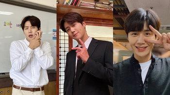 """ประวัติ """"คิมซอนโฮ"""" หนุ่มหน้าใส รอยยิ้มอบอุ่น ที่หลงรักการแสดงมาตั้งแต่เป็นนักศึกษา"""