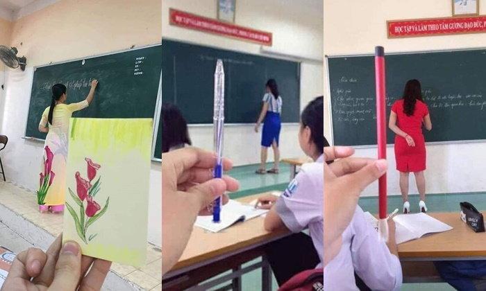 เหมือนเป๊ะ! เมื่อชุดมาสอนของครู เป็นไอเดียในการหาไอเทมรอบตัวมาเปรียบเทียบ