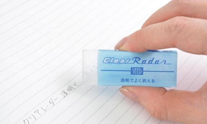 """นวัตกรรมใหม่แห่งวงการเครื่องเขียน ยางลบใส """"Clear Radar"""""""