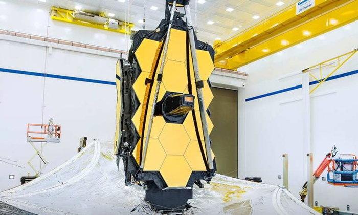 แผงกั้นแสงอาทิตย์ กล้องโทรทรรศน์อวกาศ เจมส์เวบบ์ ผ่านการทดสอบ พร้อมปฏิบัติภารกิจแล้ว!