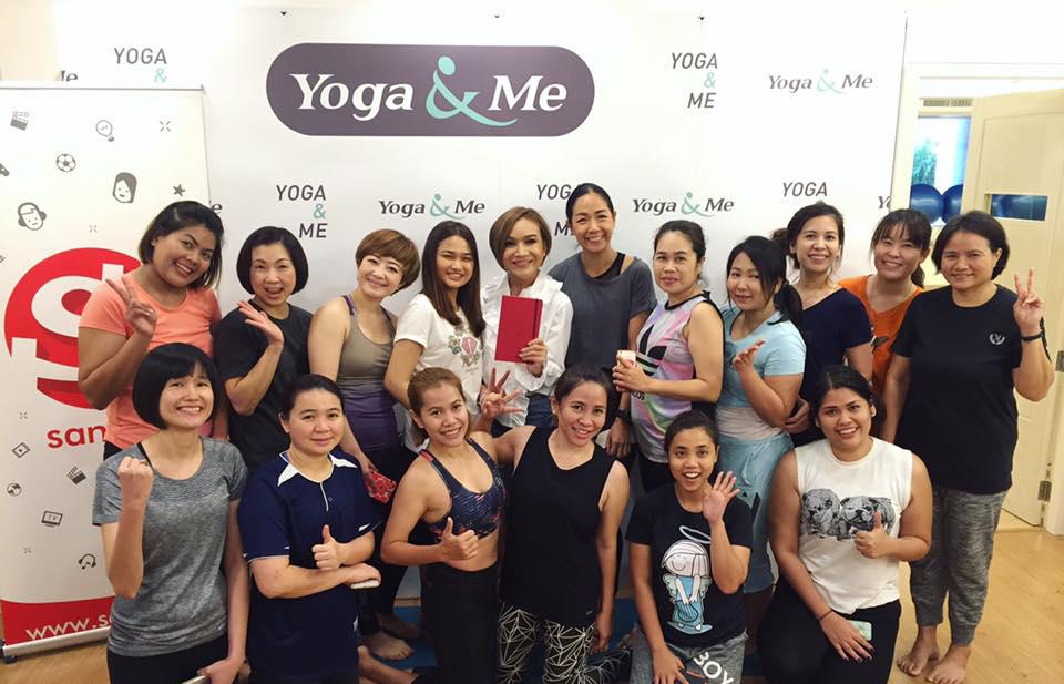 กิจกรรมโยคะตามราศี ทำนายดวงกับ Sanook! Horo เรียนโยคะกับ Yoga&Me ดูดวงกับหมอดูต๊อกแต๊ก A4