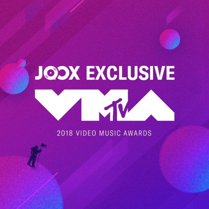 JOOX มอบประสบการณ์สุดพิเศษทางดนตรี ถ่ายทอดสดงาน MTV Video Music Awards 2018 ชมสดพร้อมกันทั่วโลก
