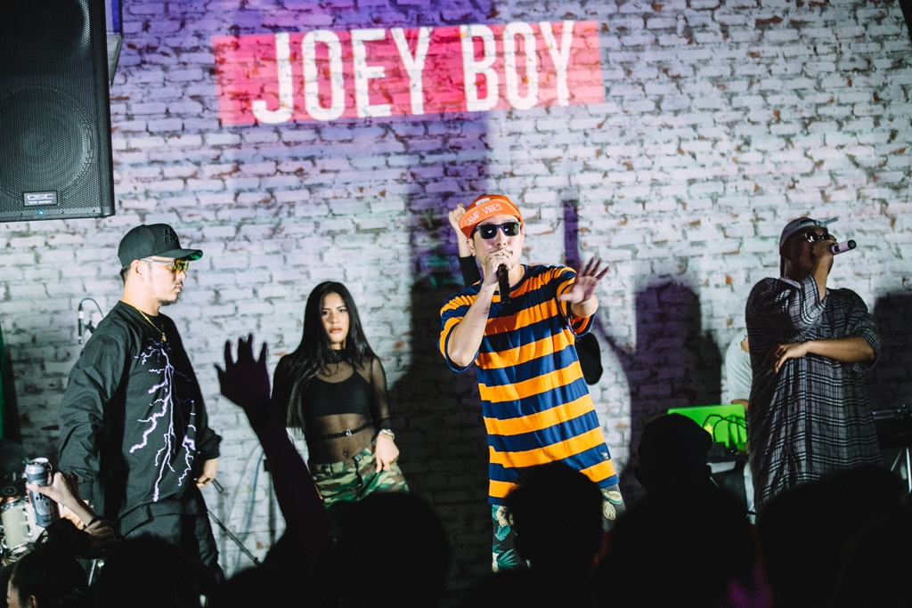 โจอี้ บอย นำทีมศิลปินฮิปฮอป เขย่าความมันส์แบบจัดเต็ม บนเวที 'คูล เอ็กซ์ พลอชัน'