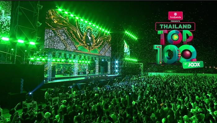 """""""ยังโอม"""" พา """"ธารารัตน์"""" คว้าอันดับ 1 เพลงฮิตแห่งปีใน foodpanda Presents Thailand Top100 by JOOX 2019"""