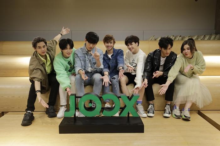 "JOOX เอาใจแฟนๆ ซีรีส์วาย จัดงาน ""UWMA Exclusive Meet & Greet by JOOX"""