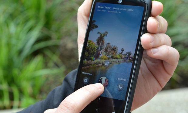 Android เล่น Facebook บนหน้า Home ได้แล้ว