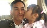 ลูกสาวน่ารักมาก เมื่อน้องปีใหม่เห็นพ่อสงกรานต์เจ็บขา