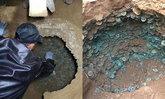 คนงานก่อสร้างตื่นตา ขุดพบเหรียญโบราณสมัยราชวงศ์ซ่งเป็นแสนๆ