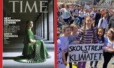 """""""เกรตา ธันเบิร์ก"""" สาวออทิสติกวัยนักเคลื่อนไหววัย 16 ถูก TIME ยกให้เป็นผู้นำของคนยุคใหม่"""