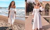 White Dress on The Beach ใส่เดรสสวยๆ ไว้ไปเดินรับลมริมทะเล