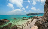 เกาะขาม ชลบุรี เปิดแล้ว! ทะเลใสหาดทรายสวยธรรมชาติสมบูรณ์ 100 เปอร์เซ็นต์